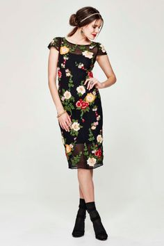 GARDEN PARTY 'FLORAL RIGHTS' DRESS