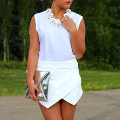 All white for summer. Pose by overmystyledbody