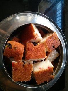 Suji Cake( fine rawa ) without egg & without oven - Sakas Aahaar