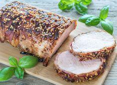Cotlet de porc invelit in bacon