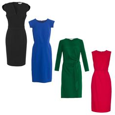 Dress Like You're The Boss With A Perfectly Tailored Sheath Dress
