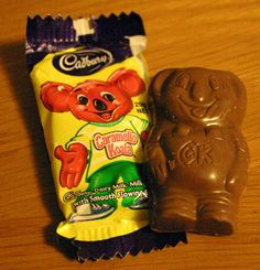 Caramello Koalas...dunked in a cuppa tea...bliss !
