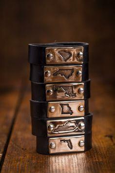 State Pride Charm Bracelets... I want an SC one!