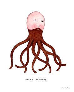 beard octopus