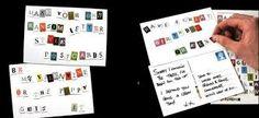 Postcard + Stickers