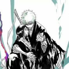 """Find and save images from the """"Kuchiki Rukia ♥"""" collection by Raspberry Princess (raspberryprincess) on We Heart It, your everyday app to get lost in what you love. Kon Bleach, Bleach Ichigo And Rukia, Anime Bleach, Kuchiki Rukia, Bleach Fanart, Bleach Couples, Shinigami, Anime Couples, Anime Manga"""