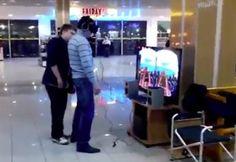 Russian Guy Scared Shitless Wearing Oculus Rift