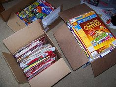 How to send cereal boxes to the Apparent Project in Haiti. They will be recycled into awesome jewelry, that is sold to support and keep together families in Haiti!