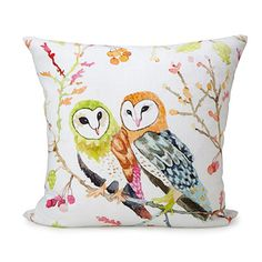Look what I found at UncommonGoods: Barn Owls Pillow for $58.00