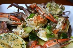Finger Food Friday -- Marinated Crabs  yummy luvvv crabs