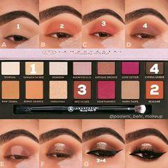 Modern renaissance - makeup_more_pintennium Glam Makeup, Skin Makeup, Makeup Inspo, Eyeshadow Makeup, Beauty Makeup, Eyeshadows, Makeup Eye Looks, Eye Makeup Steps, Makeup For Brown Eyes