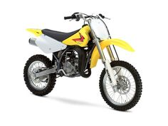 New 2015 Suzuki RM85 Motorcycles For Sale in Missouri,MO. 2015 Suzuki RM85, Price shown is based on the manufacturer's suggested retail price (MSRP) and is subject to change. MSRP excludes destination charges, optional accessories, applicable taxes, installation, setup and/or other dealer fees. The RM85 continues to carry on the powerful tradition of racing excellence in the Suzuki RM family. The two-stroke engine produces smooth power at any rpm with an emphasis on low to mid-range…