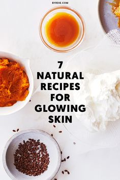 Natural recipes for glowing skin