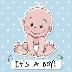 Osito de peluche de historieta niño bebé - ilustración de arte vectorial