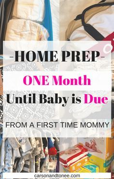 Being a first time mom requires doing a ton of research! With only being a month away you need to be prepared for baby to come at any time! Every body is different and every pregnancy is different. So being early and prepared is best. Of course you can never feel fully prepared for a …