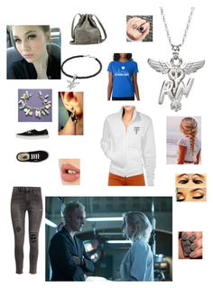 """""""Imagine walking in on your boyfriend Blaine asking your sister Liv for your hand in marriage"""" by panicatmystic on Polyvore featuring art"""