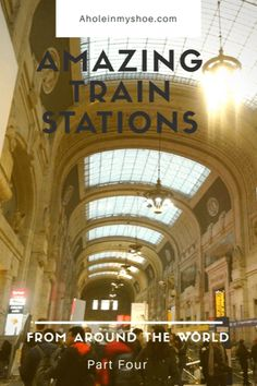 In times long gone train travel signified a new, exciting way to travel, then came beautiful architecture, grand train stations and innovating technology