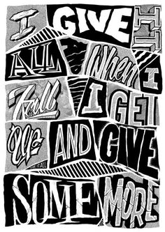 Give it all- The Amity Affliction c: