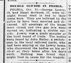 Found in The Decatur Herald in Decatur, Illinois on Tue, Nov 1, 1921.