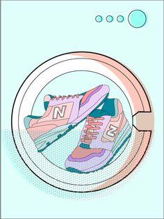 Wenn bei schmutzigen Schuhen gar nichts mehr hilft, bleibt nur noch die Waschmaschine. Doch da gibt es einiges zu beachten...