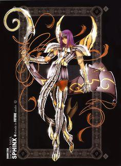 Pharaoh de Esfinge. Espectros de Hades. Sacred Saga. Saint Seiya Studio Future.
