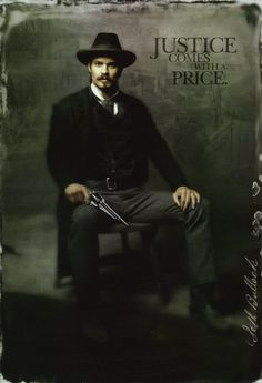 Seth Bullock from Deadwood.