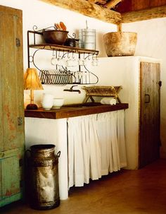 something about rustic...