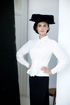 Audrey Tautou #BellesDeJour #netaporter Una belleza en toda regla. http://www.lagrimasnegras.com