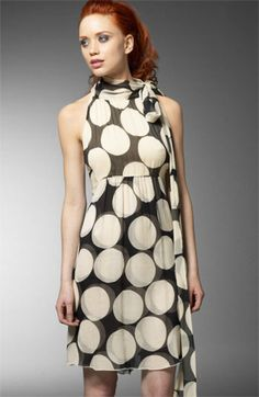 Diane von Furstenberg Charade Polka Dot Dress