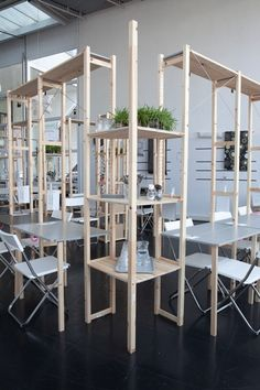 Pop-Up Restaurant Furnished With IKEA Products Lets Diners Customize Tables
