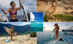 Woman quit her bar job to go sailing around the world ten years ago #DailyMail | See this & more at: http://twodaysnewstand.weebly.com/mail-onlinecom
