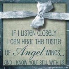 In Memory of  my Mom, Grandma, John, & all of our other angels. I miss all of you more than words can say. The world is a colder place without you.