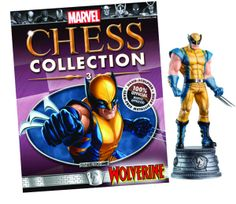 Marvel Chess #3 Wolverine.