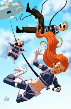 Kim Possible and Ron Stoppable as agent at sheild.