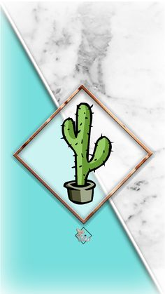 Cactus Phone Wallpaper I Lisa Lisica ©.