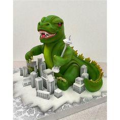 Godzilla cake - Mike's Amazing Cakes