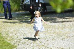 Princess Madeleine, Princess Leonere and Chris O'Neill Visit Gotland  3 June, 2016