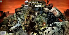 Best crossover ever... Gi Joe and Transformers set in the 1930s!