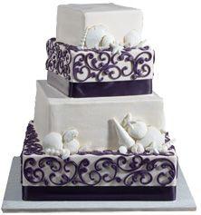 Beautiful cakes beyond compare http://www.beachweddingsbydeb.com/