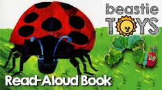 """Read-Aloud: """"The Grouchy Ladybug"""" by Eric Carle - A Book for Kids"""