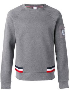 Moncler Gamme Bleu Crew Neck Sweatshirt In Grigio Moncler, Character Outfits, Sport Fashion, Nice Tops, Active Wear For Women, Sport Outfits, Printed Shirts, Crew Neck Sweatshirt, Ranger