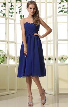 Royal Blue Online Bridesmaid Dress BNNAH0073