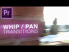 How to Smooth Whip Pan Camera Transition with almost ZERO Editing (Premiere Pro CC - Tutorials 411 : Tutorials 411 Photography And Videography, Video Photography, Video Editing, Photo Editing, Adobe After Effects Tutorials, Film Tips, Digital Film, After Effect Tutorial, Adobe Illustrator Tutorials