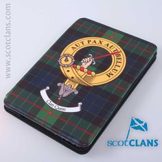 Gunn Clan Crest iPad Mini Flipcase. Free Worldwide Shipping Available