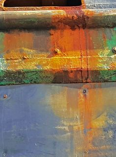 Rust; Port Townsend boat yard-dm