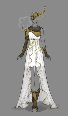 Fantasy Outfit #3 - Auction closed by Nahemii-san.deviantart.com on @DeviantArt