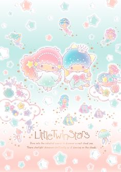 The shining sea looks just like stars twinkling in the starry night sky! The new Little Twin Stars design series uses the sea as the theme, it uses lots of shell motifs and pearls in its design. It will also launch a new D-cut star shaped hand mirror and hair brush for this series!