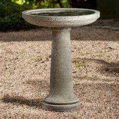 Simple Classic Stone Bird Bath