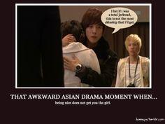 that awkward asian drama moment