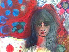 Acrylic on canvas Jacqueline van der Venne